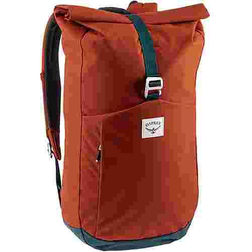 Osprey Rucksack Arcane Roll Top Daypack umber orange/stargazer blue