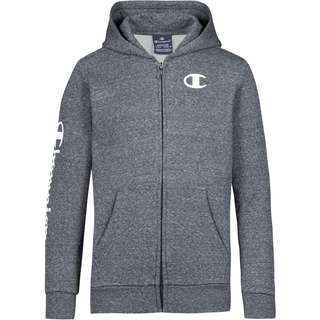 CHAMPION Sweatjacke Kinder dark grey melange yarn dyed