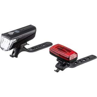 Contec LS-247SLIM 30 LUX Fahrradbeleuchtung schwarz