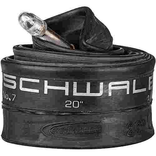 Schwalbe 7 40/62-406 AV40 Fahrradschlauch schwarz