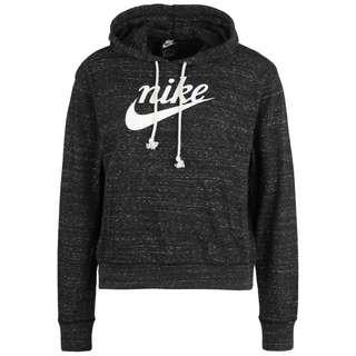 Nike NSW Gym Vintage Hoodie Damen dark grey heather-sail