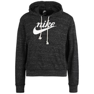 Nike NSW Gym Vintage Hoodie Damen dark grey heather-sail