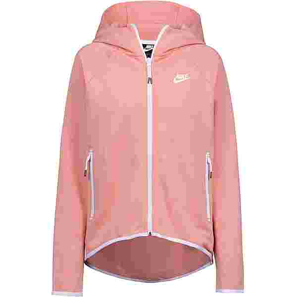 Nike NSW Tech Fleece Sweatjacke Damen pink quartz-pink quartz