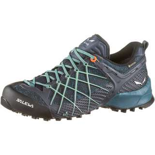 SALEWA GTX® WILDFIRE Zustiegsschuhe Damen ombre blue-atlantic deep