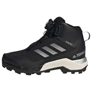 adidas TERREX Winter Mid Boa Wanderschuh Winterschuhe Kinder Core Black / Silver Metallic / Core Black