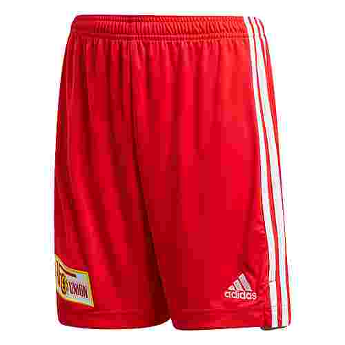adidas 1. FC Union Berlin 20/21 Heimshorts Funktionsshorts Kinder Vivid Red / White