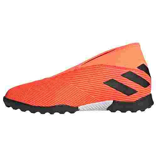 adidas Nemeziz 19.3 TF Fußballschuh Fußballschuhe Kinder Signal Coral / Core Black / Solar Red