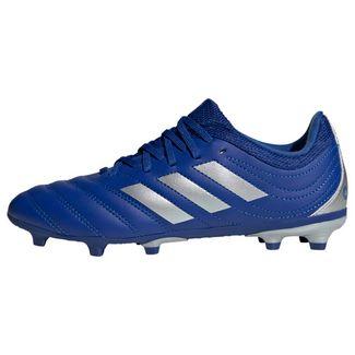 adidas Copa 20.3 FG Fußballschuh Fußballschuhe Kinder Royal Blue / Silver Metallic / Royal Blue