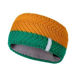 Mammut La Liste Headband Stirnband deep emerald-tumeric