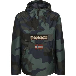 Napapijri Rainforest Print 1 Windbreaker Herren schwarz