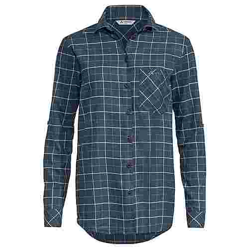 VAUDE Women's Farsund LS Shirt II Funktionsbluse Damen steelblue