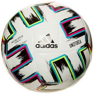 adidas Uniforia Sala EM 2021 Fußball weiß / bunt