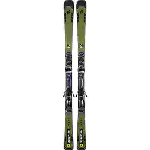 K2 DISRUPTION 78 Ti MXC 12 TCx LIGHT SET Race Carver Herren black-yellow