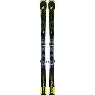 K2 DISRUPTION SC M3 11 COMPACT QUIKCLIK Race Carver Herren black-yellow
