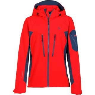 Schöffel Penia Softshelljacke Herren high risk red