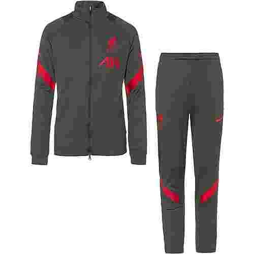 Nike FC Liverpool Trainingsanzug Kinder anthracite-gym red-gym red