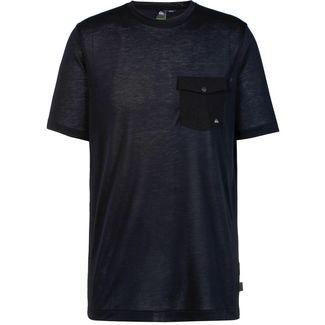 Quiksilver T-Shirt Herren black