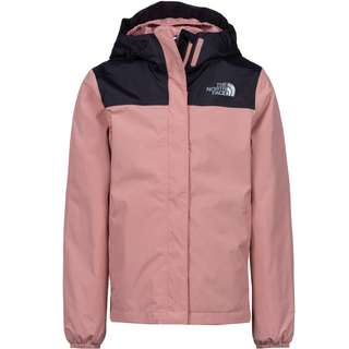 The North Face Resolve Regenjacke Kinder pink clay-tnf black