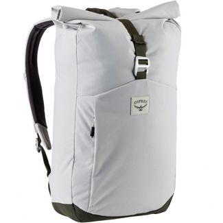 Osprey Rucksack Arcane Roll Top Daypack lunar grey/haybale green