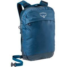 Osprey Rucksack Transporter Panel Loader Daypack Deep Water Blue