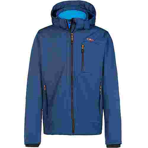CMP Softshelljacke Herren blue ink-river