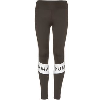 PUMA Leggings Kinder puma black-puma white