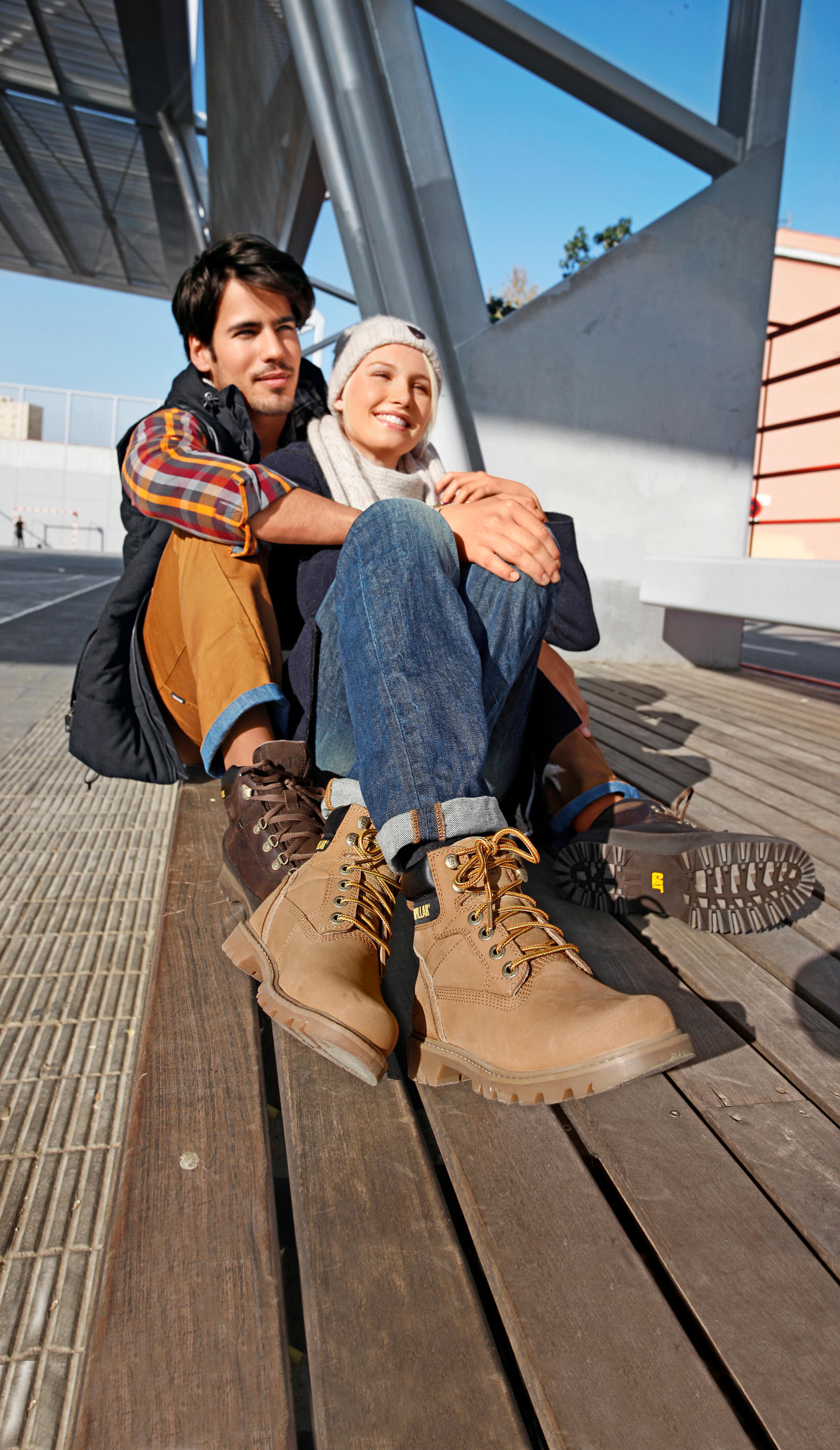 CATERPILLAR Willow Boots Damen camel im Online Shop von SportScheck kaufen