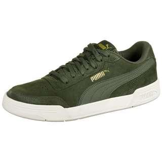 PUMA Caracal Suede Sneaker Herren dunkelgrün