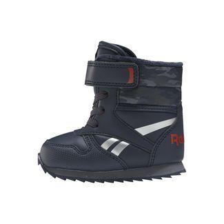 Reebok Reebok Royal Classic Snow Jogger Shoes Sneaker Kinder Collegiate Navy / Instinct Red / Silver Metallic