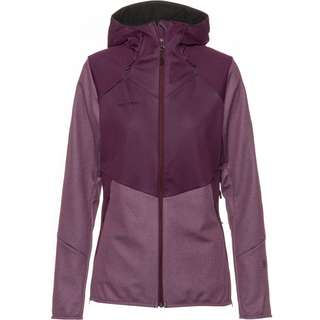 Mammut GORE-TEX® Ultimate VI SO Softshelljacke Damen blackberry melange
