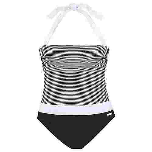 Lascana Badeanzug Damen schwarz-weiß