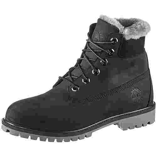 TIMBERLAND 6 Inch Premium Junior Boots Damen black nubuck