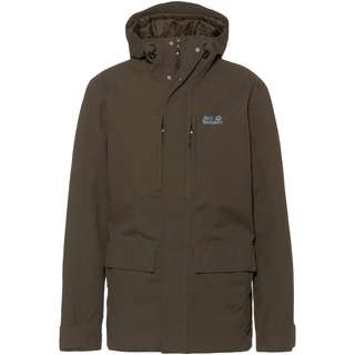 Jack Wolfskin West Coast Funktionsjacke Herren brownstone