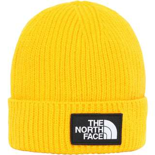 The North Face Box Logo Beanie Kinder summit gold