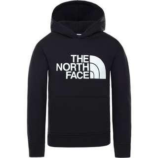 The North Face Drew Peak Hoodie Kinder tnf blk-glow in the dark