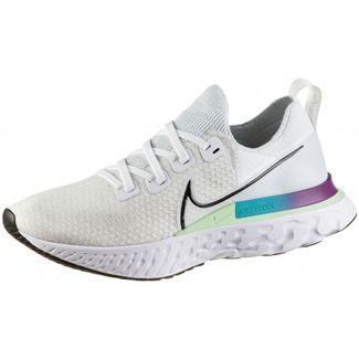 Nike REACT INFINITY Laufschuhe Herren white-black-vapor green-oracle aqua