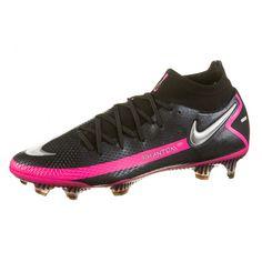 Nike PHANTOM GT ELITE DF FG Fußballschuhe Herren black-metallic silver-pink blast