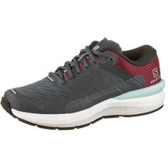 Salomon SONIC 3 Confidence Laufschuhe Damen india ink-wht-beet red