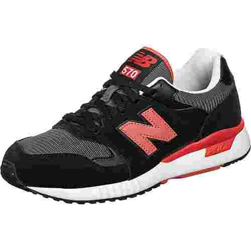 NEW BALANCE 570 Sneaker Herren schwarz/rot