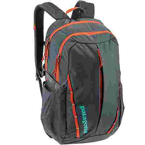 Patagonia Rucksack Refugio 28L Daypack Smolder Blue/Roots Red