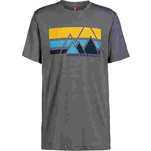 OCK T-Shirt Herren grau