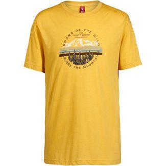 OCK T-Shirt Herren senfgelb