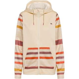 Burton Fleeceshirt Damen creme brulee heather/creme brulee woven stripe