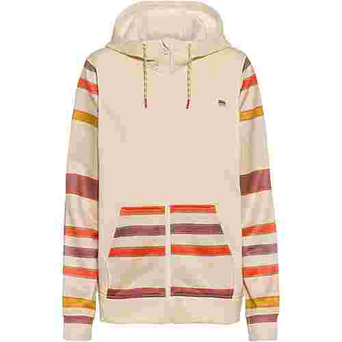 Burton Fleeceshirt Damen creme brulee heather/creme brulee woven stripe