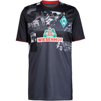 UMBRO Werder Bremen 20-21 3rd Fußballtrikot Herren schwarz