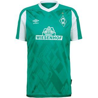 UMBRO Werder Bremen 20-21 Heim Fußballtrikot Herren grün