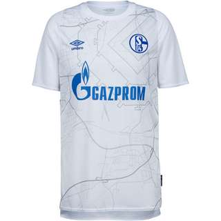 UMBRO FC Schalke 04 20-21 Auswärts Trikot Herren weiß