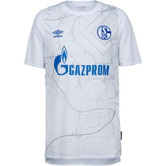 UMBRO FC Schalke 04 20-21 Auswärts Fußballtrikot Herren weiß