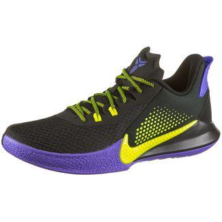 Nike Mamba Fury Basketballschuhe Herren black-lemon venom-psychic purple