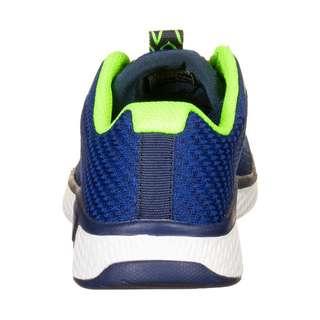 Skechers Solar Fuse Kryzik Sneaker Kinder blau / neongrün